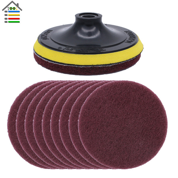 Awe Inspiring 2019 Olishing Buffing 125Mm Angle Grinder Scouring Cloth Disc Scour Tools Car Scouring Pad Polishing Buffing Wheel Kit Hoop Loop Backing From Onthecornerstone Fun Painted Chair Ideas Images Onthecornerstoneorg