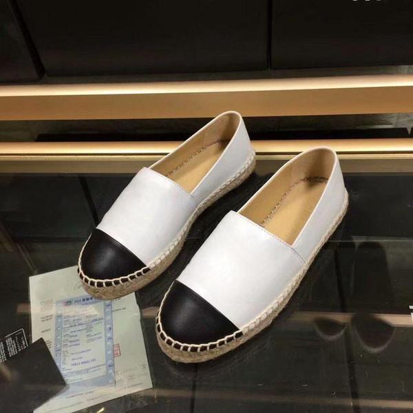 Espadrilles Echtlederband Plattform Espadrille Damen Wohnungen Loafers Wedges Schuh Damen Mode Lässig Sandalen Pumps C01