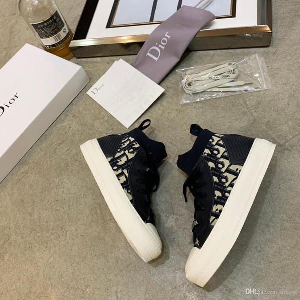 Novo1 top de luxo high-top senhoras casuais sapatos de moda selvagem tênis de fundo planas confortável ao ar livre respirável sapatos de viagem