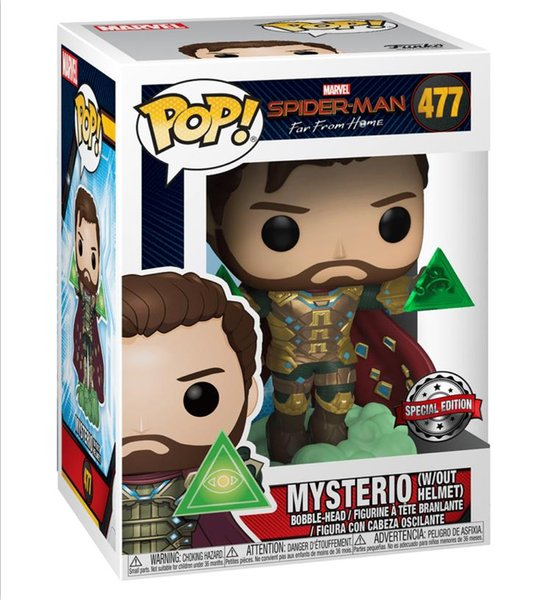 Spider-Man Far From Home Mysterio Pop 10cm