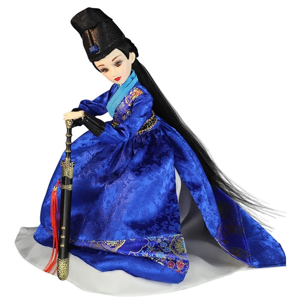 Chinese ancient costume, fine Chinese clothes,Pure handwork,Exquisite and lifelike,movable joints,Ming Dynasty Jinyi Wei doll,Handmade exqui