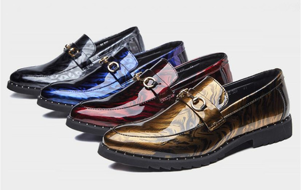Nova chegada dos homens Sapatos de Couro Genuíno Casual Oxfords Flats Sapatos de Condução Dos Homens Mocassins Sapatos Italianos Sapatos para EUR38-45