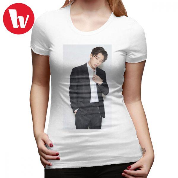 T-shirt Ikon Bobby Ikon- T-shirt Bobby XL 100 coton femmes tshirt à la mode Motif O Cou Street Wear Dames Tee Shirt