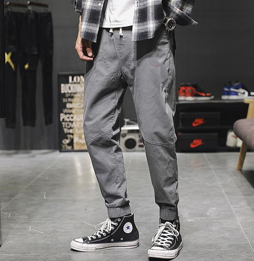 Designer Men's Cargo Pants Casual Sport Style Long Trousers Fashion Brand High Quanlity Cargo Pants 2019 New Arrival Asian Size M-3XL