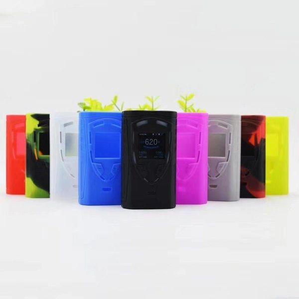 Smokevape ProColor 225w Mod Ecigs Funda de silicona Funda de piel Bolsa Bolsa de gel de sílice Carcasa protectora para proColor 225w vape Mod DHL gratis