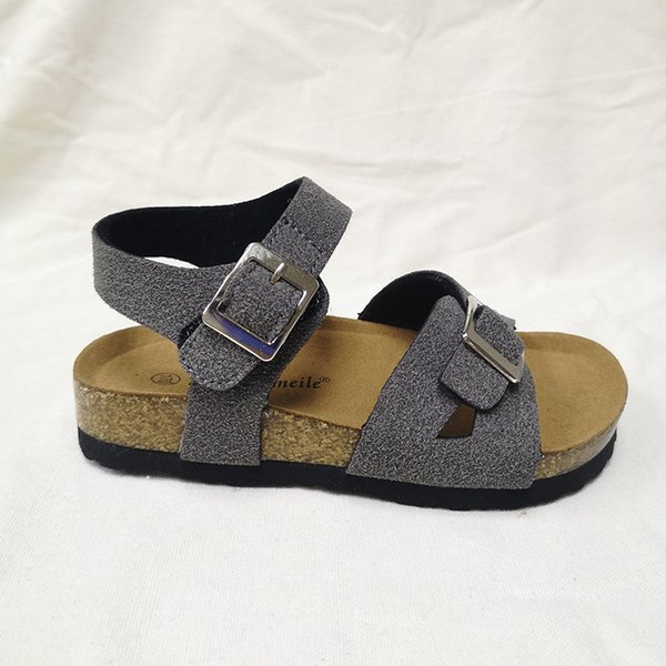 Kids Shoes Unisex Clogs for Children Boys Sandals Toddler Girls Sandals for Sale Cork Shoes Solid Color