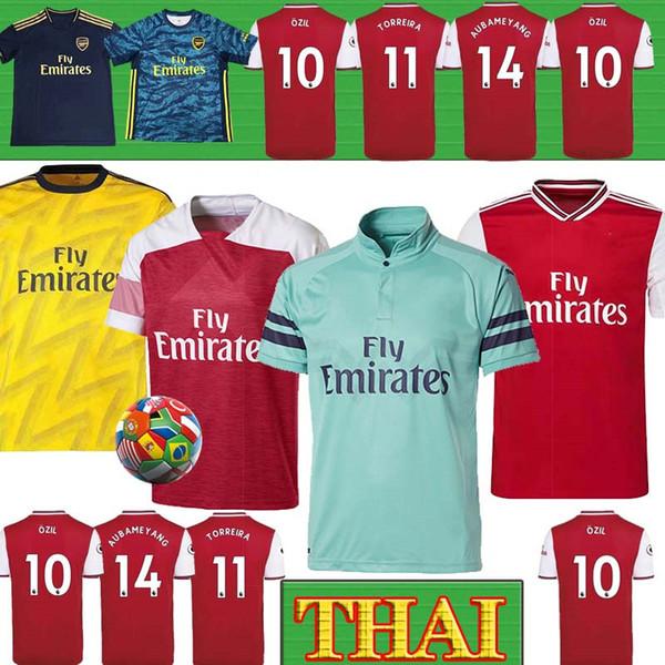 Tailandesa de los hombres + los niños conjuntos uniformes 19 20 equipos de fútbol Arsen NICOLAS CEBALLOS HENRY fútbol Jersey 19 20 TIERNEY Camisetas de futbol camiseta de fútbol