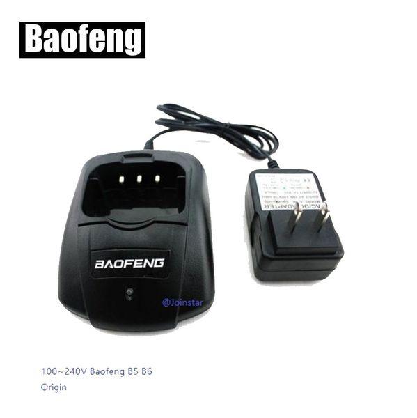 Original Desktop Charger for BAOFENG Two Way Radio UV-B5 UV-B6 (Europe or U.S.A. type) walkie talkie