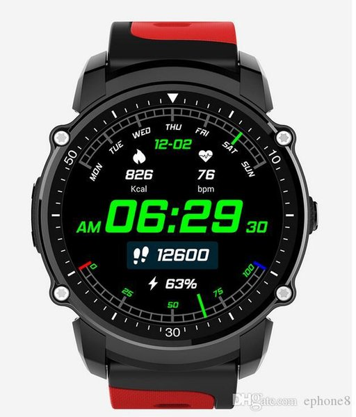 FS08 Bluetooth Smart Watch Waterproof IP68 Swim GPS Sport Fitnes Tracker Stopwatch Heart Rate Monitor Wristwatch for Android High Quality