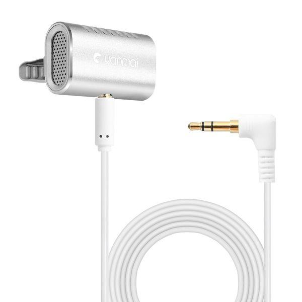 CATS Yanmai R977 Lavalier Microphone Clip-on Mini Lapel Microphone Mic Youtube/Interview/Studio/Video Recording AUX Audio Reco