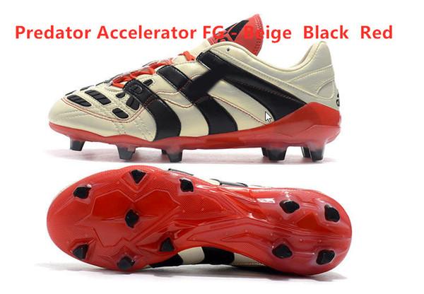 Accelerator FG - بيج أحمر أسود