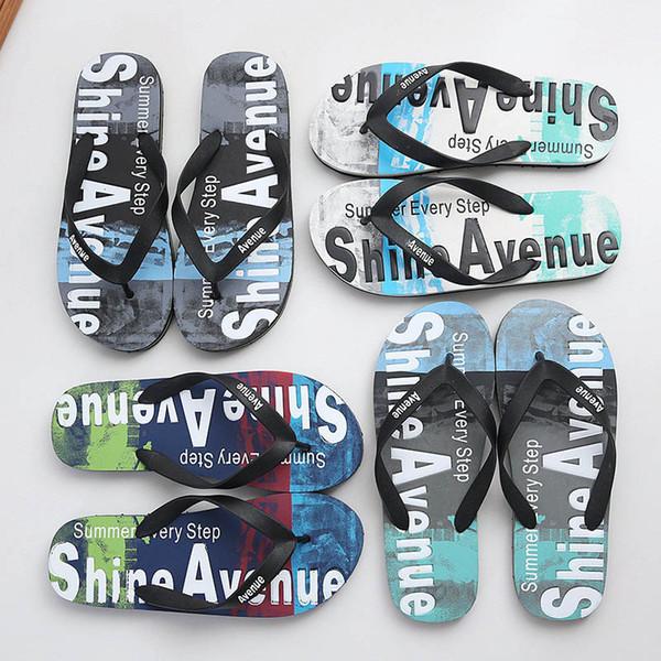 Cheaper Summer Fashion Designer Men Womens Simplicity Stylte Slippers Flip-Flops Luxury Slide Pvc Sandals Bow Wide Flat Slippery Beach Shoes