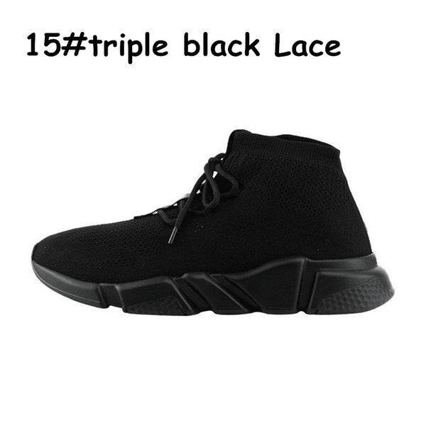 A15 tiple black lace