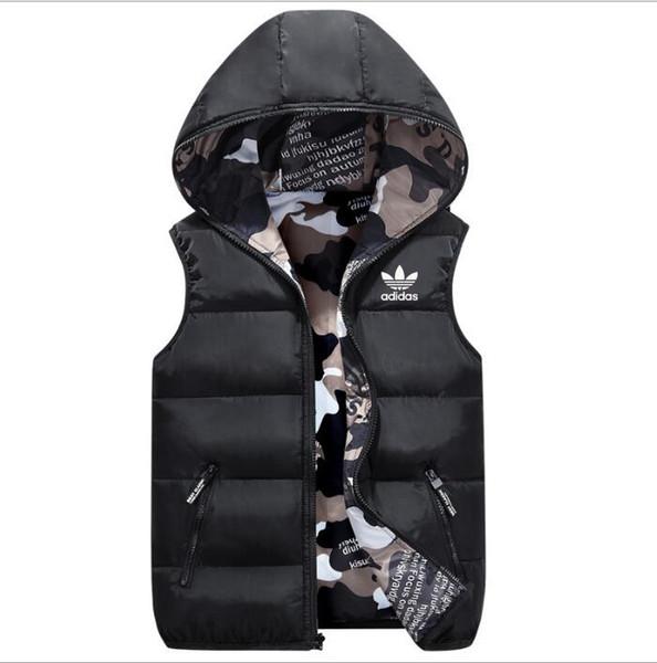 Hommes de luxe vêtements d'extérieur gilet d'hiver doudoune vestes de designer plume gilets occasionnels manteau manteaux hommes vers le bas