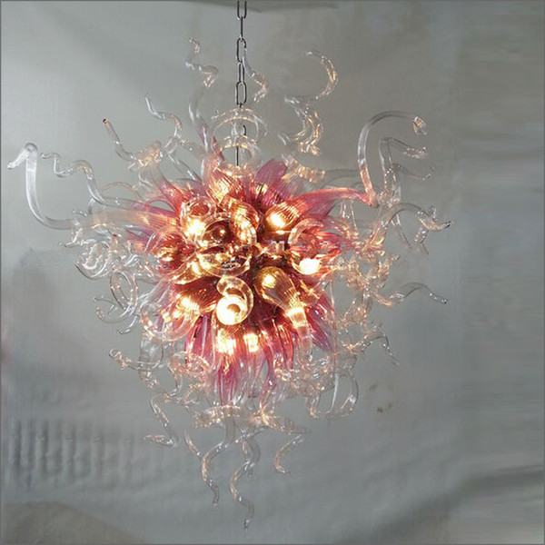 New Arrival Cheap Price Hand Blown Chandelier Murano Glass Artistic Lighting Hand Blown Glass Chandeliers Contemporary Chandelier