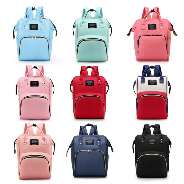 Large Capacity Waterproof Maternity Backpack fashion Mommy Backpacks Nappies Diaper Bags Mother Handbags Outdoor Nursing Travel Bags C6807