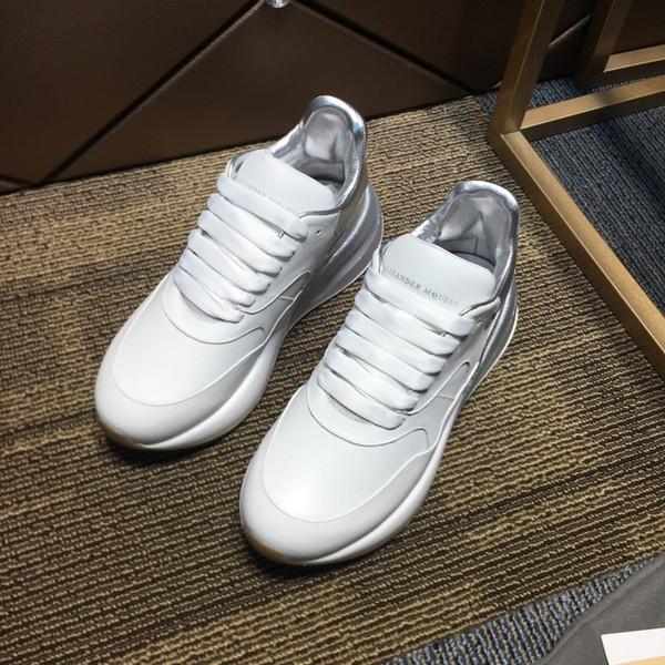 2020 hommes baskets plate-forme Og classique de qualité supérieure en daim Gazelle luxe garniture arrière d'argent MQ marques chaussures de sport