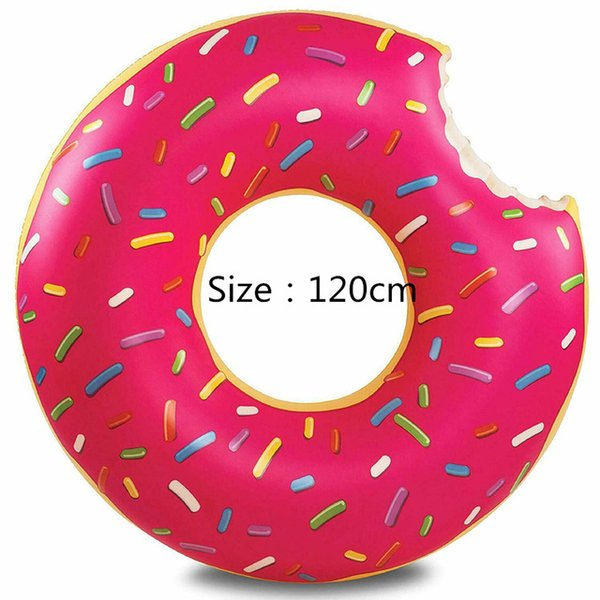 2020 Inflatable Colorful Swimming Ring Safe Pool Float