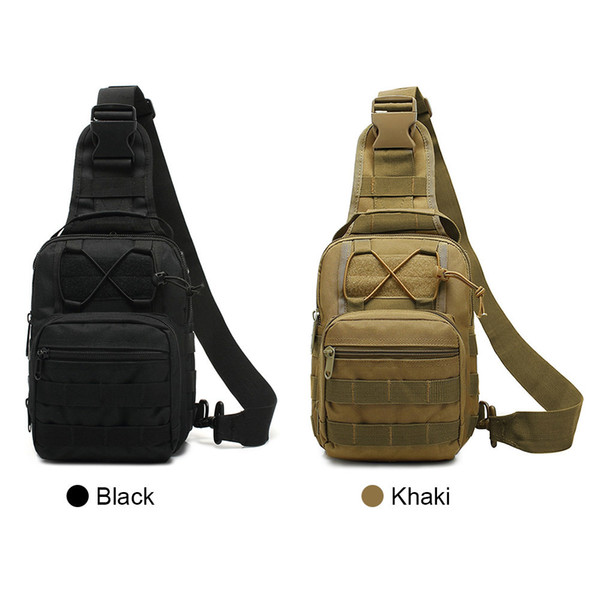 New Casual Outdoor Sling Bag Chest Pack Shoulder Sports Bag For Trekking Camping Hiking Sling Daypack Fa$3