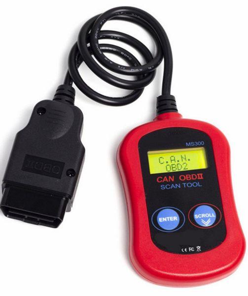 MS300 lector de códigos Autel MS300 puede OBD2 OBDII herramienta de escaneo MaxiScan MS 300 escáner de códigos Revisar la herramienta de reinicio de la luz del motor