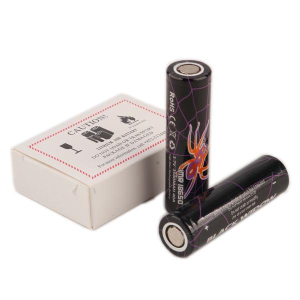 BLACK WIDOW 18650 Batería recargable 3500mAh IMR 3.7V 40A 3500 E Cig Batería de litio recargable Celular ventas Fedex