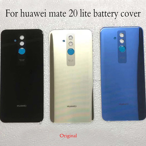 prezzo competitivo 9388b 66e6b 2019 Original For Huawei Mate 20 Lite Glass Back Battery Cover Case For  Mate 20Lite Mate20lite Rear Door Housing+Glass Lens From Computcool, $31.13  | ...