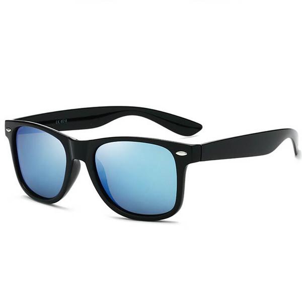 Unas gafas de sol polarizadas clásicas retro m nail fashion damas y hombres lentes de sol color de la película gafas de sol de moda playa espejo street eye protecti
