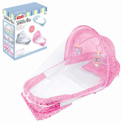 Portable Baby Bed Crib Newborn Infant Bedding Sleeping bed crib cot BB sleeping artifact Travel with Bumper Kids Cotton