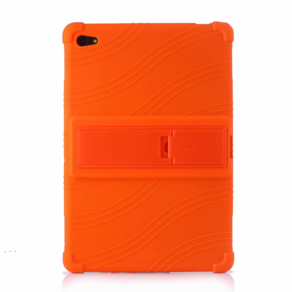 50pcs Soft Silicon TPU Back Cover Case Stand for Huawei MediaPad M5 Lite 10 BAH2-L09 BAH2-W19 BAH2-AL09 10.1 inch Tablet