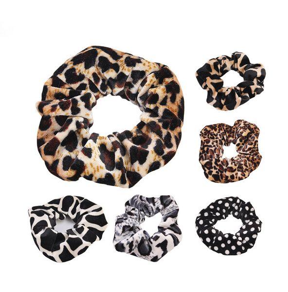 Korean Leopard Haargummi Gold Samt Stirnband Flanell Haarband Haarball Haarnadel Blume Haarschmuck Für Mädchen Frauen 115