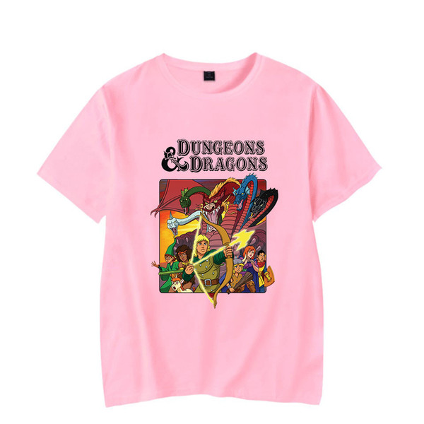 T-shirt manica corta estiva Bunge 2019 New Arrivel Dungeons and Dragons 2019 T-shirt donna casual nuova estate / manica stampata B9