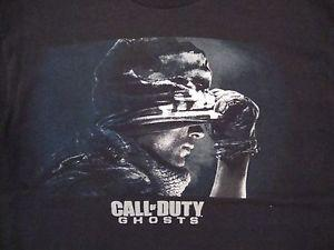 2019 Ghosts COD Video Game FPS Shooter Infinity Ward Bla2019 T Shirt L