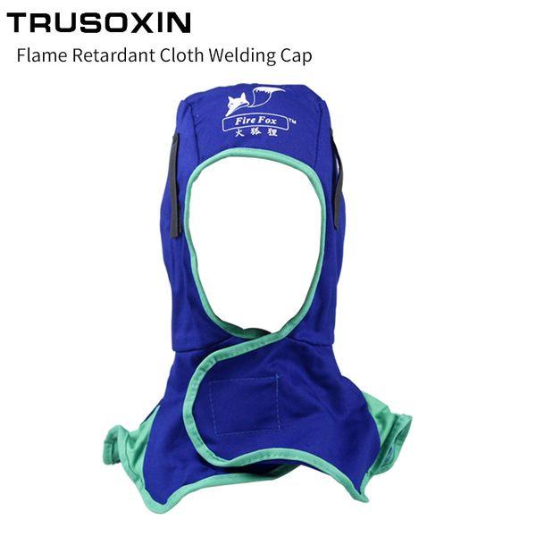 Splash Spark Fire Retardant Soft Cloth Welding Mask for Spot Welding Line Cutting Flame Cutting Other Welding Machine/Welder