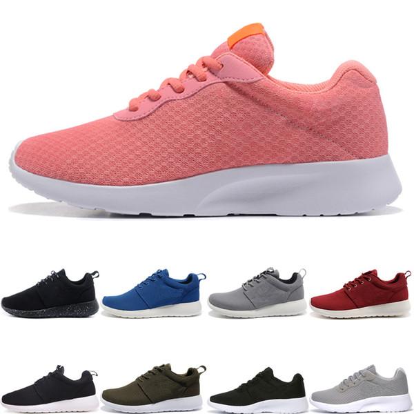 nike air roshe run one shoes Горячая распродажа мужчины Tanjun кроссовки женщин тройной черный красный серый темно-синий низкий легкий дышащий лондон 3.0 мужские олимпийские
