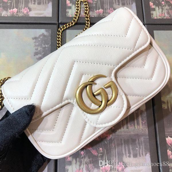 High quality luxury women mini handbags luxury crossbody classic fashion single shoulder bag simple generous chain bag crossbody bags box