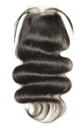 Wholesale 100% Real Soft Human hair 10A Body Wave 4*4 lace closure Selling directly from Factory With Best Quality No Tangle No Shedding