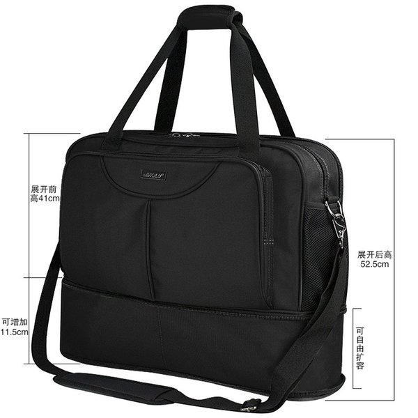 Outdoor duffel bag portable large-capacity travel bag short-distance travel men's sports fitness bag training travel