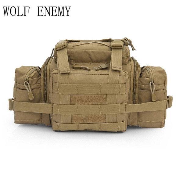 Molle Tactical Utility Gear Waist Pouch Carrier Bag Outdoor Sport Assault hunting bags #324534