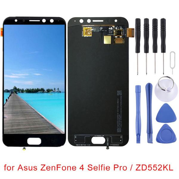 2 colores para Asus ZenFone 4 selfie Pro / ZD552KL pantalla LCD y digitalizador de montaje completo reemplazo de piezas de reparación