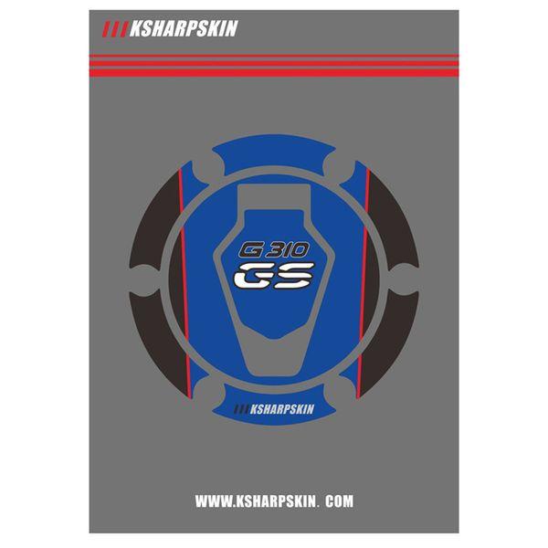 de moto de pièces automobiles de haute qualité des autocollants de chapeau de chapeau d'air du bouchon du réservoir de carburant 3D pour BMW GS G310GS G310