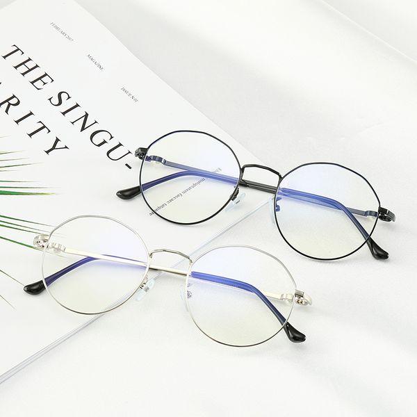 0203 Cristiano Uomo Artistico Piccolo Stile Fresco Occhiali Anti-Blu Leggero Lente 52mm 6 Colori Montatura per occhiali con scatola