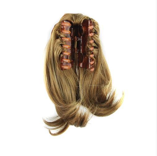 8 colori breve rettilineo marrone nero coda di pony coda di capelli sintetici capelli artiglio capelli coda di cavallo estensioni dei capelli
