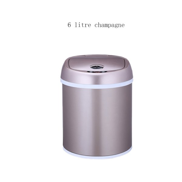 Induction trash can office kitchen kitchen bathroom