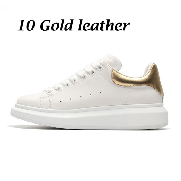 11 gold leather