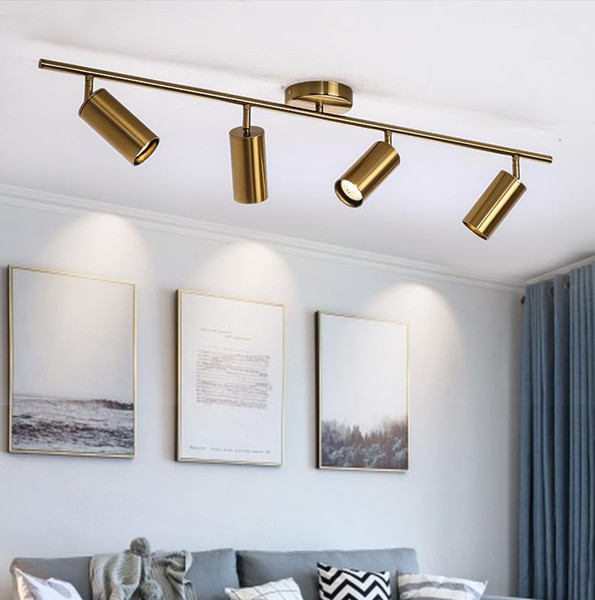 Modern Living Room Ceiling Light Fixture Nordic Rotatable LED Ceiling Lamps for shop Spot Kitchen Ceiling Track spotlights