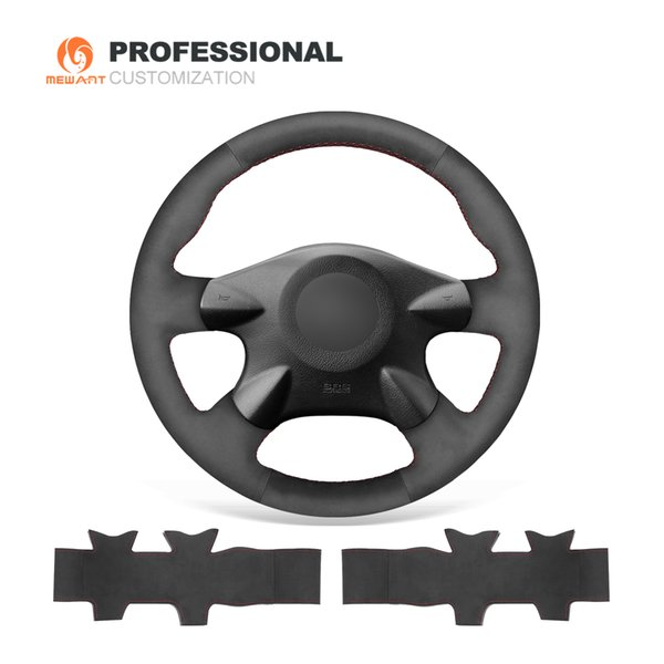 Mewant Black Suede Car Steering Wheel Cover For Nissan Almera N16 Pathfinder Primera Paladin X Trail Samsung Sm3 Wonder Woman Steering Wheel Cover