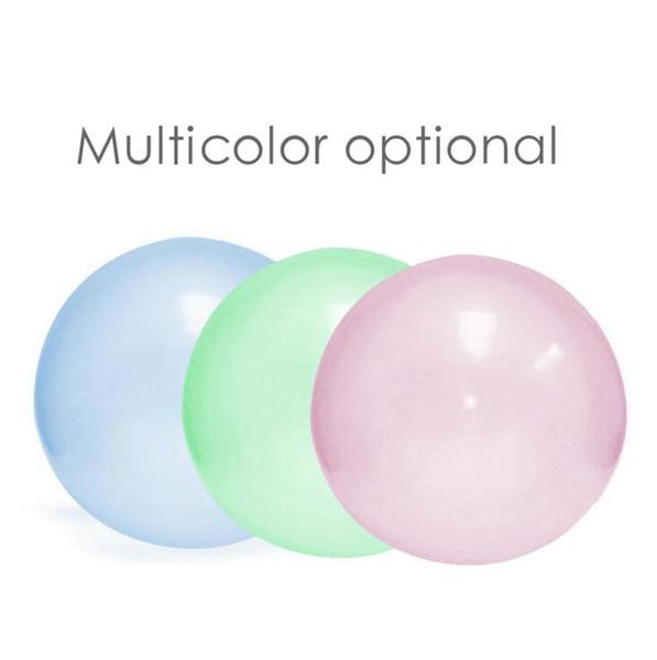 Incredibile Bubble Ball Trasparenza wobble bubble ball Giocattoli gonfiabili Outdoor Water-filled TPR palloncino Kids Adult Divertente giocattolo CLS429