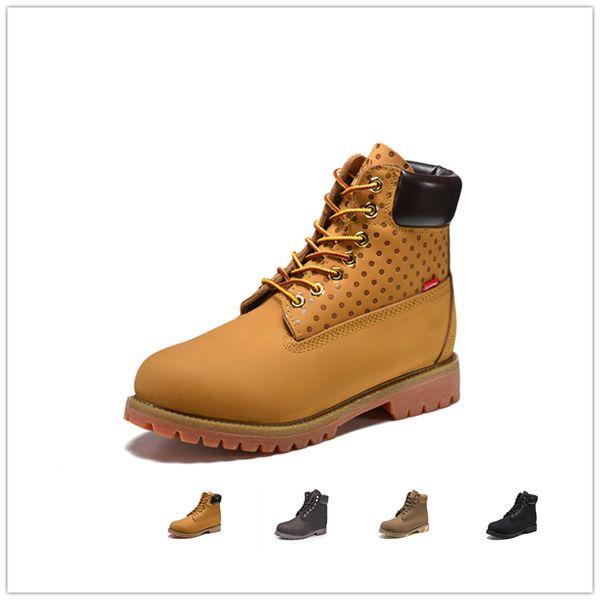 Original mens women Fashion winter boots chestnut black white red blue Grey womens men designer boot size 5.5-11 free shipping
