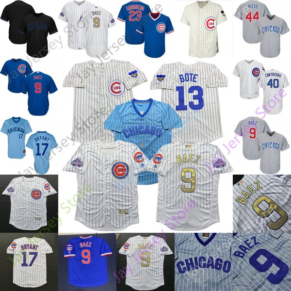 buy online 66dc5 93188 2019 Chicago Custom Cubs Jersey Javier Baez David Bote Kris Bryant Anthony  Rizzo Kyle Schwarber Willson Contreras Kimbrel Nicholas Castellanos From ...