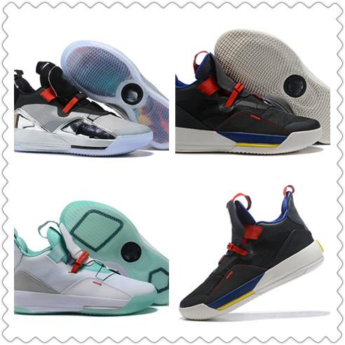 33 for All-Star Weekend women shoes designer shoes 33 Utility Blackout Chicago TECH PACK 33s PE luxury casual women men shoes SIZE 36~4